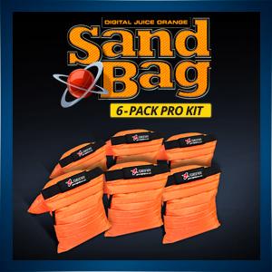 Orange Sand Bag - 6 Pak Pro Kit